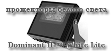 Прожекторы видимого белого свечения Dominant II+™ White Light
